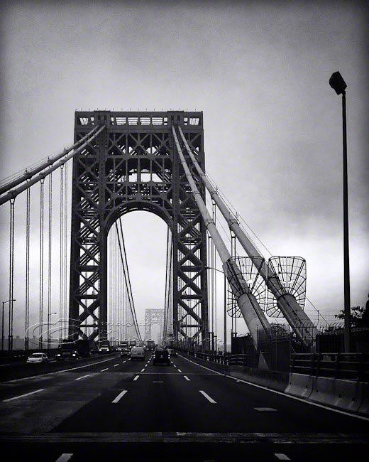 Architecture photo nyc photos george washington bridge black print